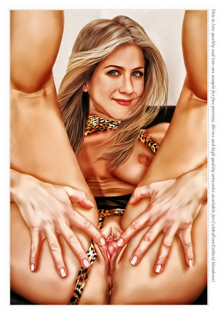 Jennifer Aniston porn comics
