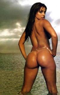 Vida Guerra - babe with perfect curvaceous * Vida Guerra