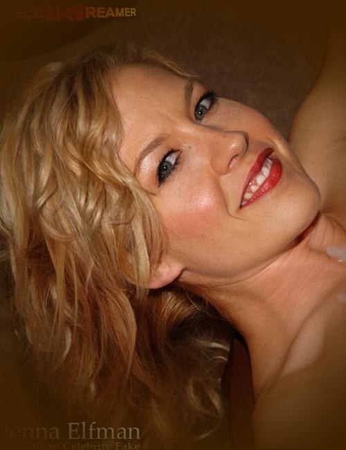 Jenna Elfman sexy milf