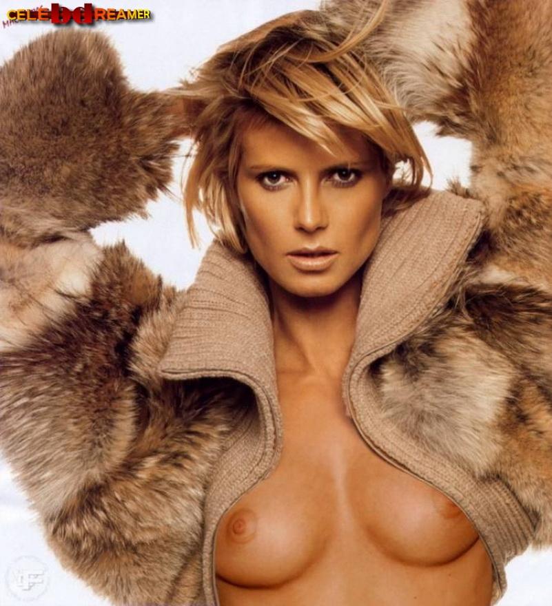 Nackt fake klum heidi Heidi Klum
