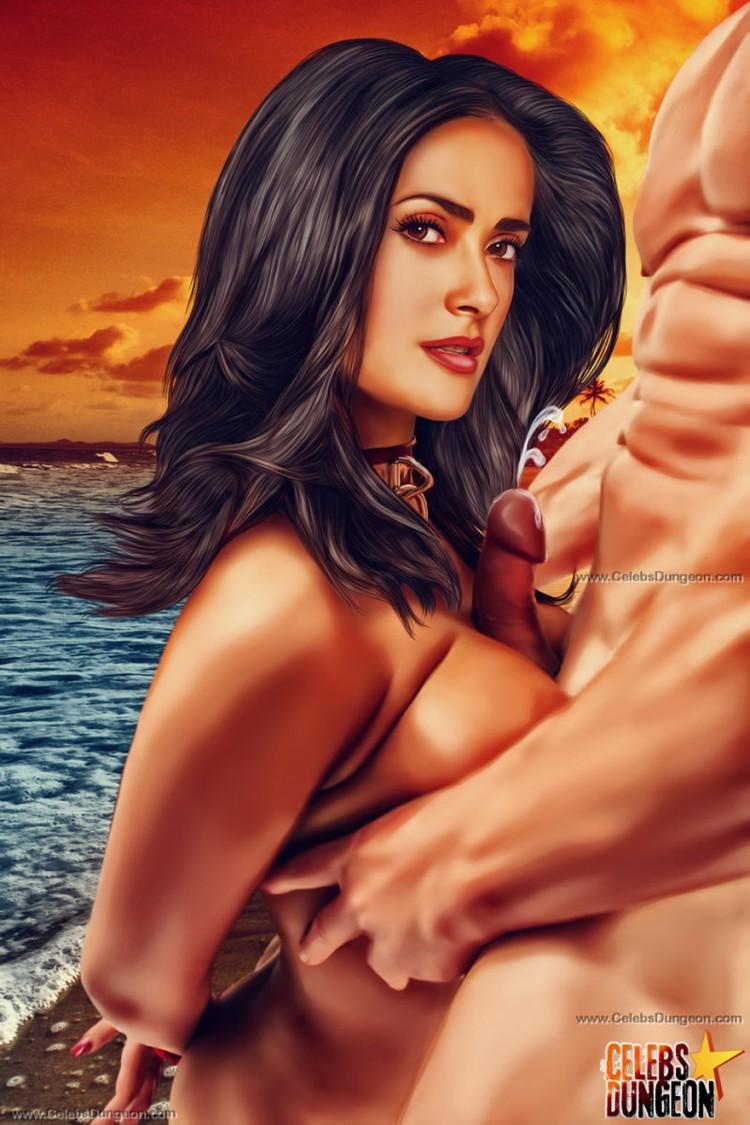 ELENA: Salma hayek bondage porn