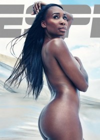Serena Williams - striptease on the beach * Celebrity Sex Tape