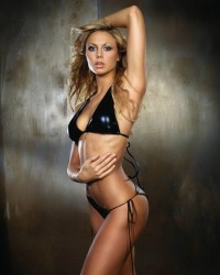 Stacy Keibler bondage poses * Celebrity Sex Tape